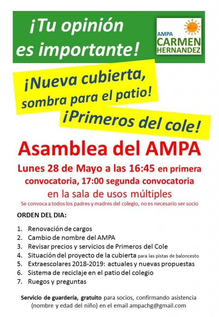Asamblea del AMPA
